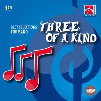 Three of a Kind - Blasorchester - 3 CDs gebraucht kaufen  Wird an jeden Ort in Deutschland