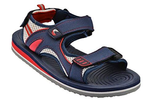 De Fonseca Sanciro Velcro Sandales Nouvelles Chaussures U. Bleu