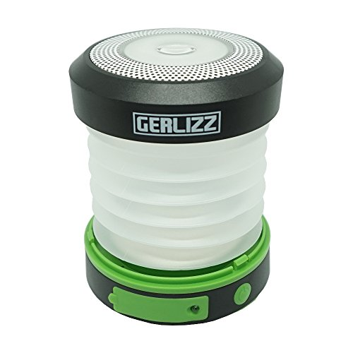 LED Camping Laterne Campinglampe 6 LED tragbar Aufhängebügel klappbar