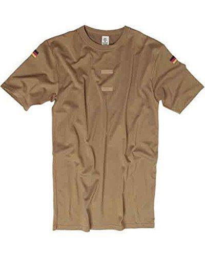 Mil-Tec BW Tropen T-Shirt m.Nat.Abz. Coyote Gr.8