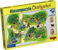 3903 - HABA - Riesenpuzzle Obstgarten, 24 Teile