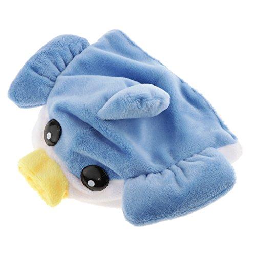 LOVIVER Cute Pet Kostüm Hut Kappe Für Welpen Teddy Kleine Hunde Katzen Ohrlöcher Weich Warm - Fisch
