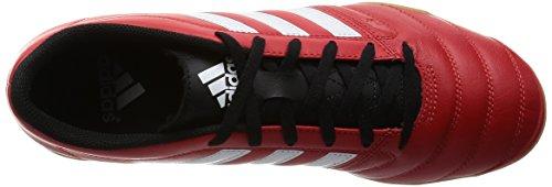 adidas  Gloro 16.2 In, Chaussures de running homme Rouge / bleu / noir (rouge intense / blanc Footwear / noir essentiel)