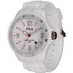 Fila Unisex Watch Analogue Quartz White & 102362