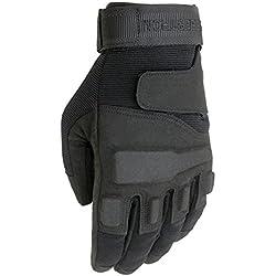 Seibertron® Homme Noir S.O.L.A.G. Armée Special Ops Plein assaut Gants Finger/Gants d'assaut légers Tactique Pleine Doigt Militaire Combat Gants (L)
