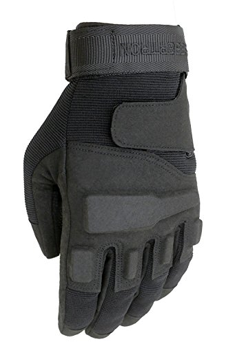 PROTECTION: Shields hands,knuckles and prevents injuries, and lessens impact. COMFORT: Material maintains a comfortable temperature. Soft Knuckles protection fits hands snuggly yet allows for dexterity. FUNCTIONALITY: Reinforced padded palm, adjustab...