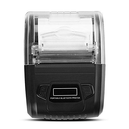 Thermischer Empfangs-drucker (VBESTLIFE 58mm POS Bluetooth mobildrucker drahtloser Mini)