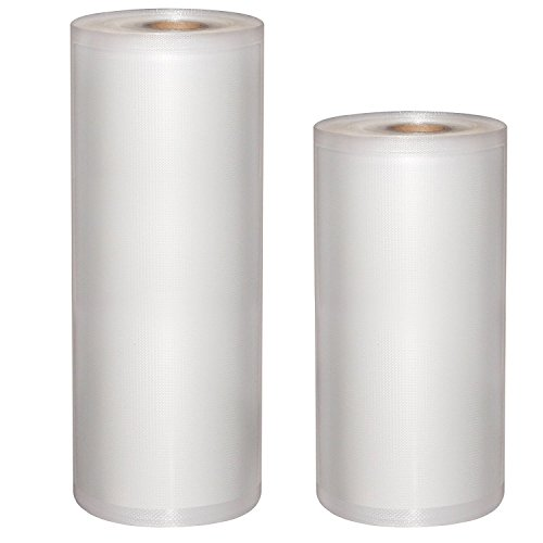 Vakuumbeutel, MixMart Profi- Folienrollen 22x15 m und 28x15 m für alle Balken Vakuumierer geeignet / Kochfest - Mikrowellen geeignet - Sous Vide geeignet / stabile Schweißnaht