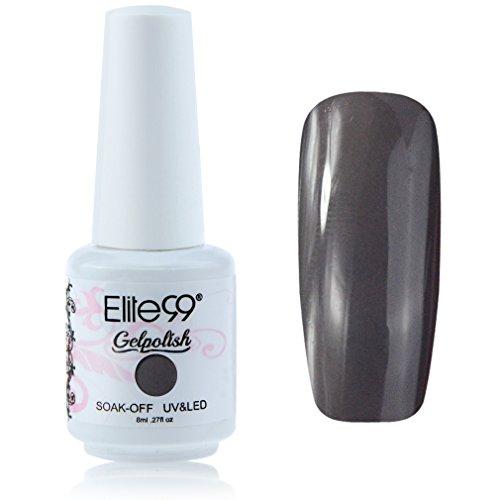 Elite99 Vernis A Ongles Semi-Permanent Soak Off Gel UV Led Base Top Nail Art Manucure 8ml 1538