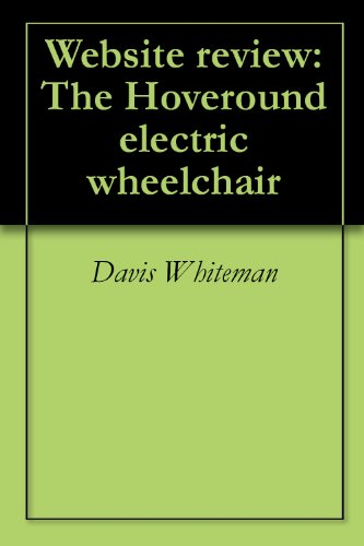 website-review-the-hoveround-electric-wheelchair-english-edition