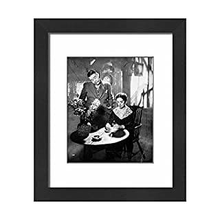 Media Storehouse Framed 10x8 Print of Film - The Vessel of Wrath - Charles Laughton and Elsa Lanchester (11090412)