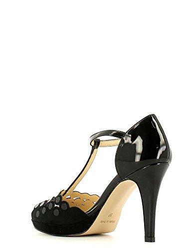 GRACE SHOES 7206 Sandalo tacco Donna Nero