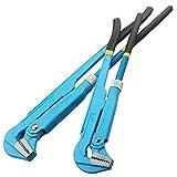 2 Stück Hochleistungs-Wasserpumpen-Pumpe 33Mm Jaw Capacity Adjustable Grips und Slip Joint Plier Set für Gripping/Pulling/Tightening & Locking-Nüsse/Schrauben.