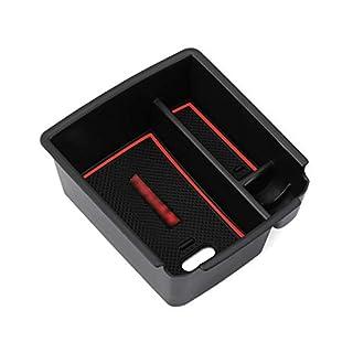RUIYA Central Console Armrest Organizer Customized for 2017 2018 Tiguan II GTE Allspace,Armrest Storage Box,Console Organizer Insert Tray,Car Accessory
