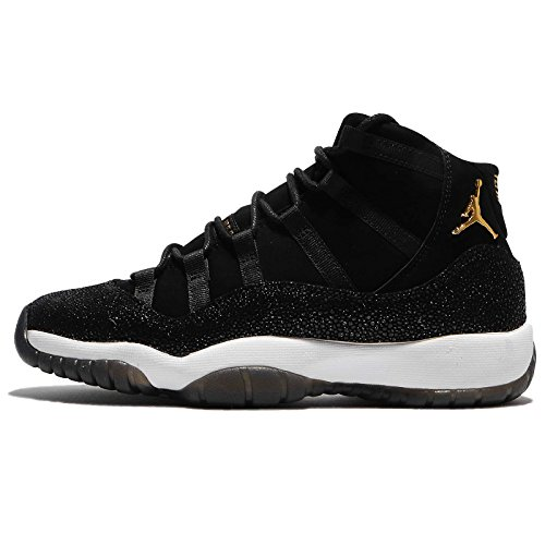 f3634670daffb Jordan Kid's Air 11 Retro Prem HC, Black/Metallic Gold-White, 6.5 UK