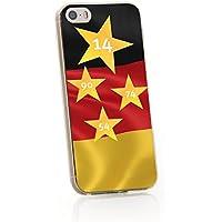ArktisPRO 1122972 Deutschland Sterne Case für Apple iPhone 5c