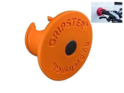 Gripster - innovadora solucion para almacenar bicicletas dentro del hogar (Naranja)