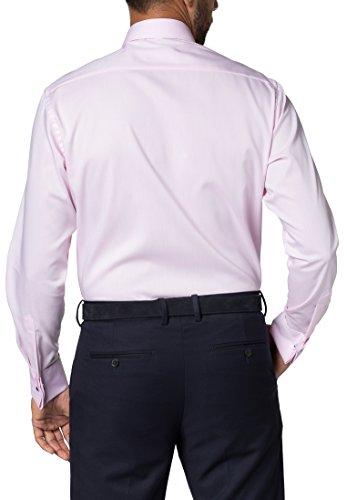 ETERNA long sleeve Shirt MODERN FIT Pinpoint uni Rosa