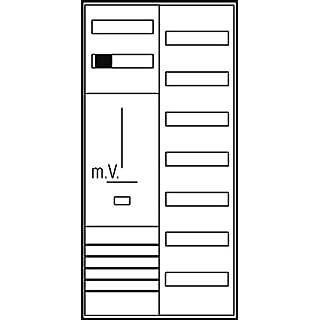 ABN Braun Komplett ABN Kabinett Hep/3Pkt. 1Z 1V7SH35A 5-P s27nby2N