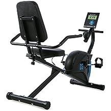 CAPITAL SPORTS Swizor X Bicicleta ergométrica (Volante 4 kg masa móvil, sensor de pulso