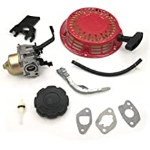 Shioshen Retroceso de arranque carburador gobernador brazo palanca Kit para HONDA GX160 GX200 5.5hp 6.5