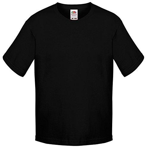 Boys Fruit Of The Loom Cotton-Blend Crew Neck Short Sleeve T-Shirt