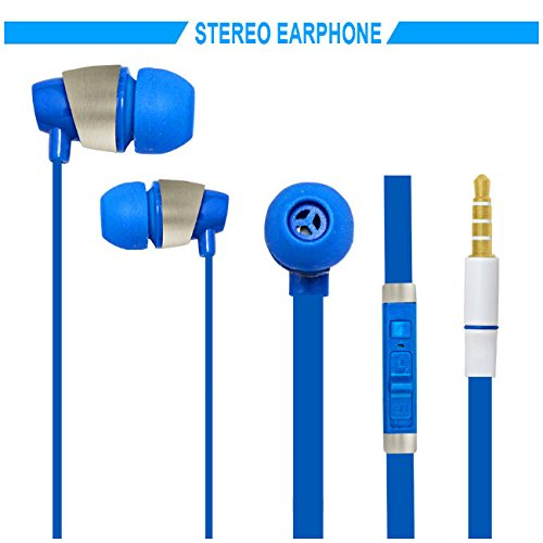 Hello Zone Sporty look and Comfort Fit Stereo Headset Handsfree Headphone Earphone with Mic 3.5 MM Jack for Sony Xperia M4 Aqua Dual -Blue  available at amazon for Rs.198