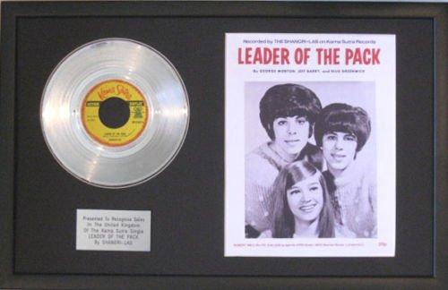 shangri-las-platinum-disc-song-sheet-leader-dei-pezzi
