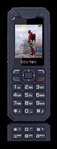 Image of Beafon AL250_EU001B Mobiltelefon (Dual SIM, TFT Farbdisplay, QVGA Kamera, Bluetooth, 4,5 cm (1,77 Zoll schwarz