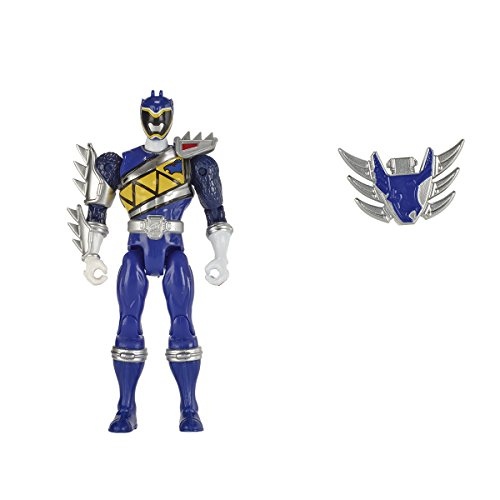 Image of Power Rangers 12.5 cm Dino Supercharge Armed-Up Mode Blue Ranger Figure
