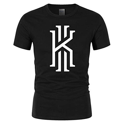 8ee132fea Kyrie Irving T Shirt 100% Cotton Sports Summer Fashion Basketball Tops tee  Shirt