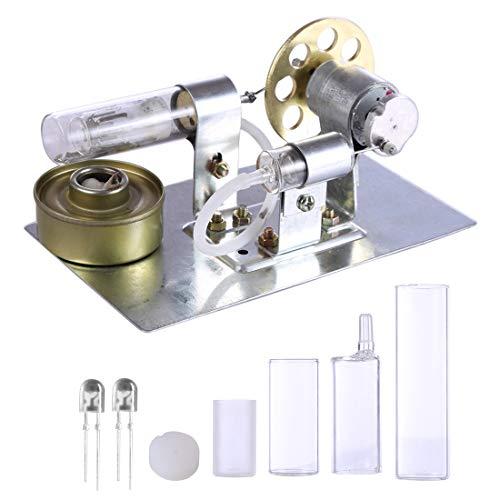 BANDRA Stirlingmotor Modell Stirling Engine Motor Kit Experimente Pädagogisches Spielzeug für Kinder