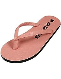DANDANJIE Männer Sommer Flip-Flops weiche Sohle Sandalen rutschfeste Bad Sandalen atmungsaktive Strand Schuhe (Farbe : Schwarz, Größe : 41)