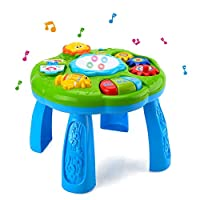 Musical Learning Table Baby Toy - HANMUN Play & Learn Baby Activity Table, Baby Play Centre, Educational Baby Sound Toy for Babies & Toddlers From 6 Months+