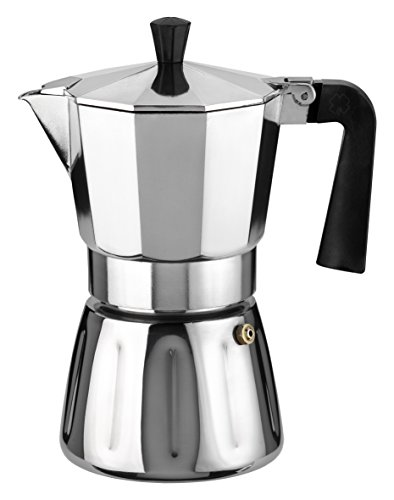 Ilsa 6306 - Cafetera Vitto mix 6 tazas, color plateado