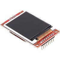 Módulo de Pantalla LCD SPI TFT de 1,8 Pulgadas y 4 Hilos 128x160 con Adaptador PCB y Conector SD para Arduino Uno / Mega / Nano