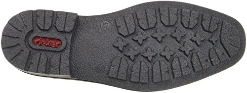 Rieker B1340 Mens Lace-up Boots Blu (oceano / Mogano)