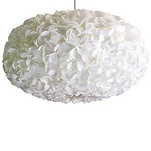 White Fluffy 2, weiße Lampe Leuchte Lampenschirm Pendelleuchte Pendellampe Hängeleuchte Hängelampe Papierleuchte Papierlampe Reispapierlampe Designerlampe Wohnzimmerlampe Schlafzimmerlampe Deckenlampe