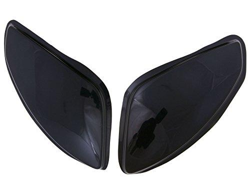 Scheinwerferabdeckung MTKT schwarz für Peugeot Speedfight 2 50 LC