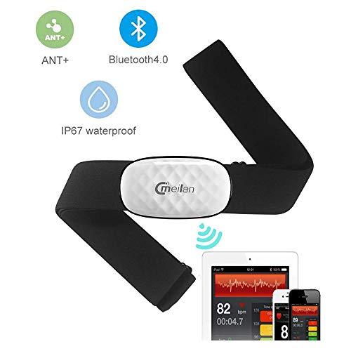 Capteur de fréquence Cardiaque, C5 Moniteur de fréquence Cardiaque cardiomètre Fitness Tracker...