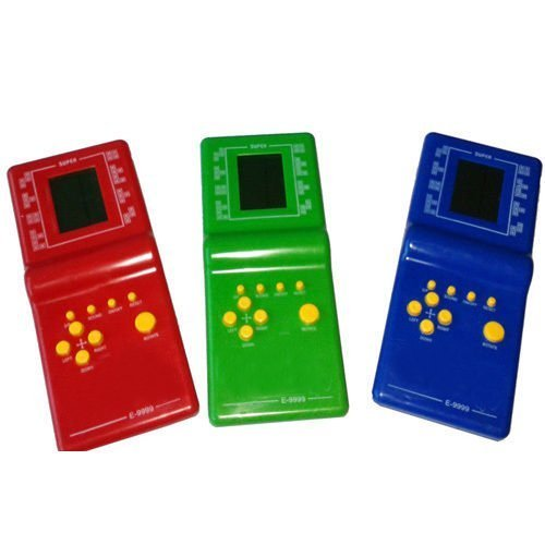 Soccik Handheld Spiel Tetris LCD Elektronische Brick Spiel Weinlese Spiel Konsolen Ziegel Spiel Klassischen Spaß Tetris Handtaschen Spielzeug Für Kinder