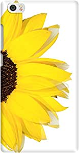 DailyObjects Sunflower White Mobile Case For Xiaomi Mi Note
