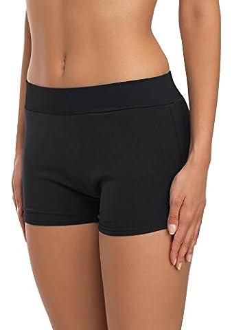 Merry Style Femmes Shorts de Bain Mod?le Sara (Noir/Noir, EU 40 (FR 42))