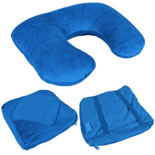 Multifunktionskissen ONE 4 GO Blau (Euro Bettbezug)