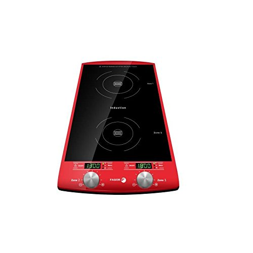FAGOR 1750 Plaque induction 2 foyers Rouge 5,2 Kg 2000 W