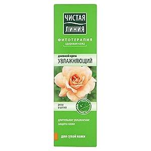Tagescreme 'Saubere Linie' Rose und Eibisch Feuchtigkeitsspendende Pflege