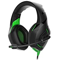 Rampage RM-K7 Siyah/Yeşil Kulaklık & Mikrofon, Siyah