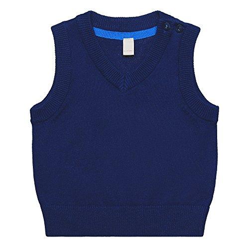 ESPRIT Baby-Jungen Pullover RK18002, Blau (Deep Indigo 491), 62
