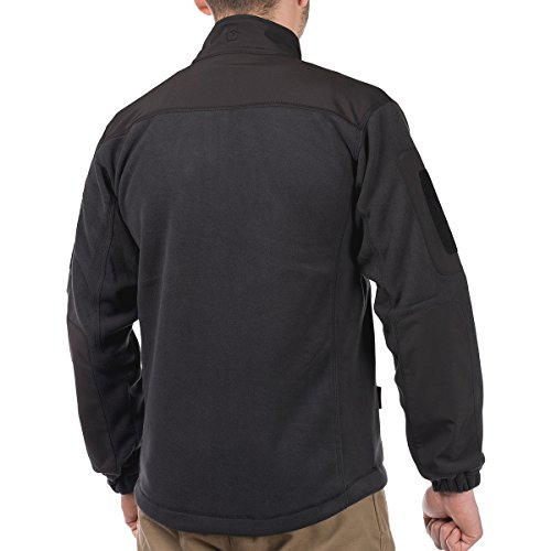 41i0vagasLL. SS500  - Pentagon Men's Perseus Fleece Jacket 2.0 Black