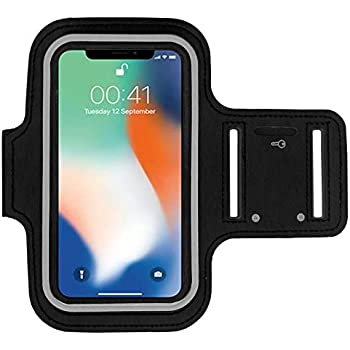 Also Compatible with Xperia 10 // XZ Premium Purple Sports Phone Holder Case for Runners Exercise /& Gym Workouts Suitable for all arm sizes Sony Xperia XZ3 // XZ2 Running Armband